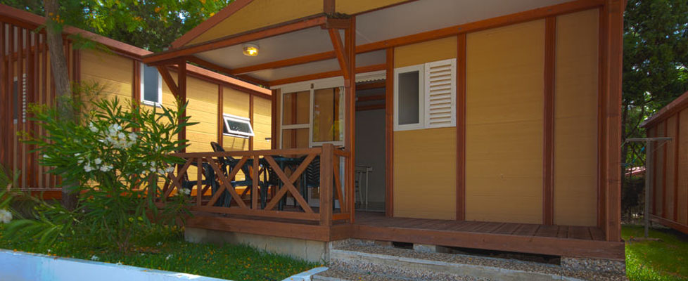 Bungalows en Camping Fuente del Gallo, Conil