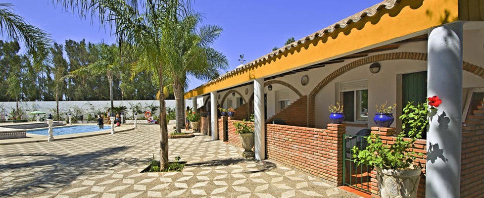 Bungalows 3 Plazas en Camping Fuente del Gallo, Conil