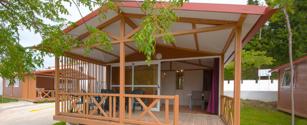 Bungalows 5 Plazas en Camping Fuente del Gallo, Conil