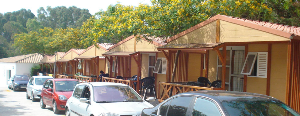 Camping bungalows conil